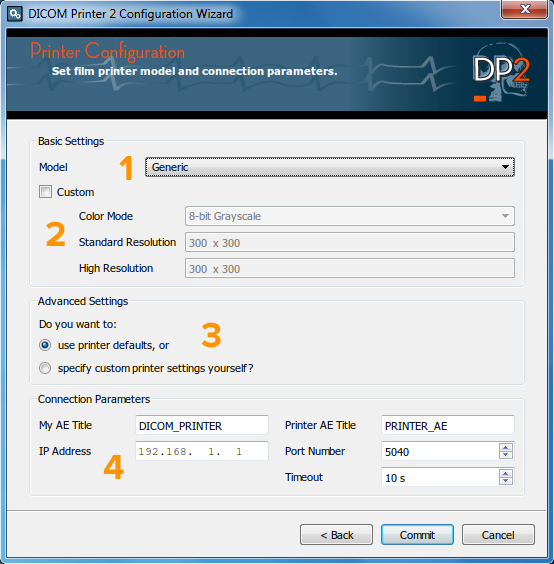 DP2 Film configuration